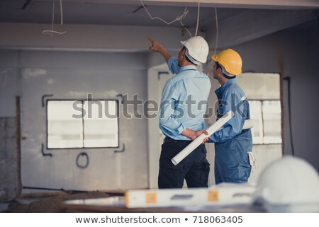 Engineer onsite. Stock photo © photography33