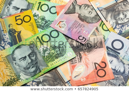 Australisch dollar persoon hand vrouwen Stockfoto © Vividrange