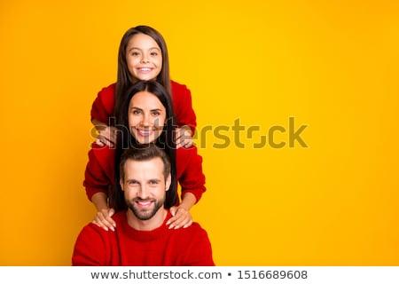 family pyramid Stock photo © photography33