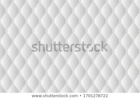 White Leather Upholstery Background Stock photo © IMaster