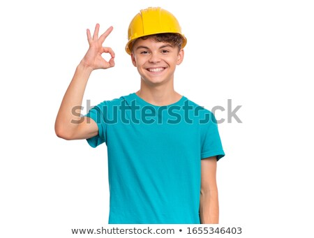 portrait of foreman making okay sign Stock photo © photography33