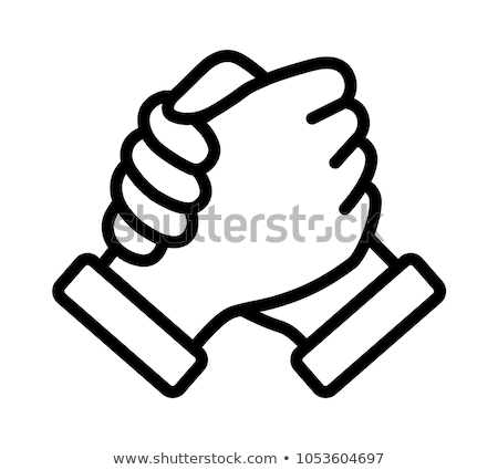 Hands clasped Stock photo © photography33