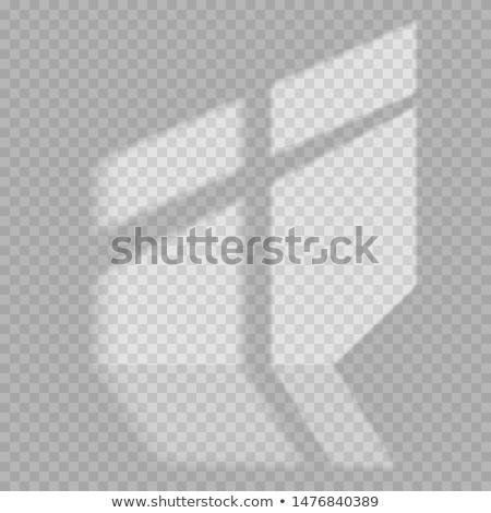 Artístico iluminação branco parede abstrato sol Foto stock © ilolab