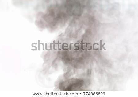 Smoke from a pipe. Inverted Stock photo © acidgrey