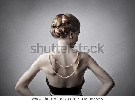 beautiful back of rich woman Stock photo © ssuaphoto