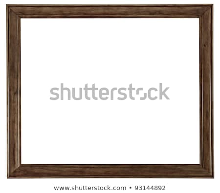 Simples dourado quadro de imagem velho retro Foto stock © winterling