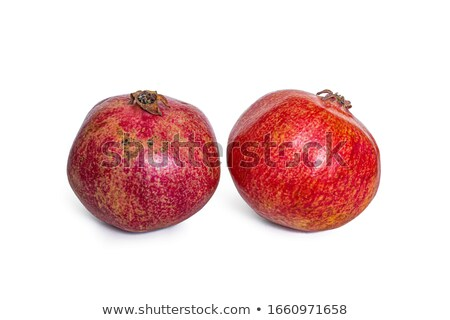 full fresh red pomegranate stock photo © boroda