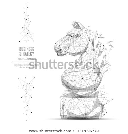 Chess Abstract Stock photo © cosma