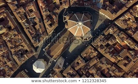 Firenze view cupola città tetto città Foto d'archivio © wjarek