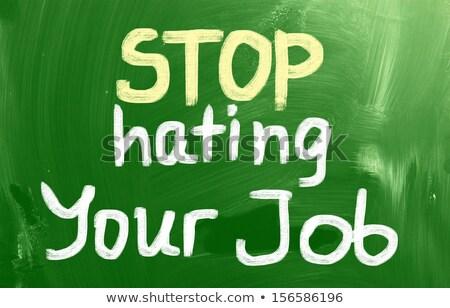 parada · amor · perdón · no · discriminación · racismo - foto stock © ansonstock