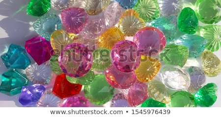 plastic diamonds stock photo © jonnysek