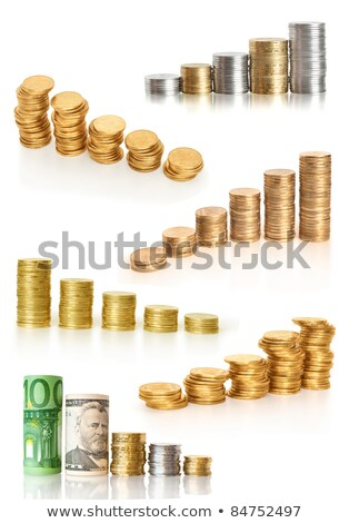 Stack of european currency Stock photo © cherezoff