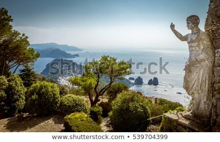 Faraglioni of Capri Island, Amalfy coast, Italy stock photo © Escander81