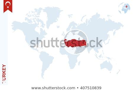 トルコ 青 方向 にログイン グレー インターネット ストックフォト © tashatuvango