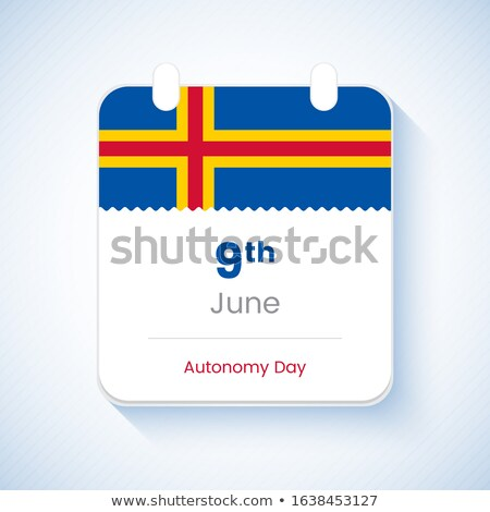 миниатюрный флаг острове изолированный бизнеса Сток-фото © bosphorus