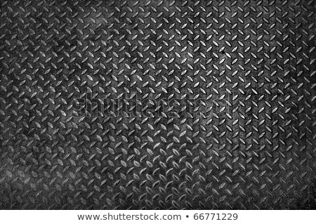 grunge diamond metal plate texture stock photo © smuay