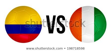Colombia vs Ivory Coast Stock photo © smocker03