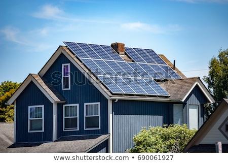 Solar panels for home use Stock photo © stevanovicigor