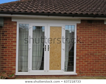 вверх окна Windows заброшенный дома текстуры Сток-фото © Taigi