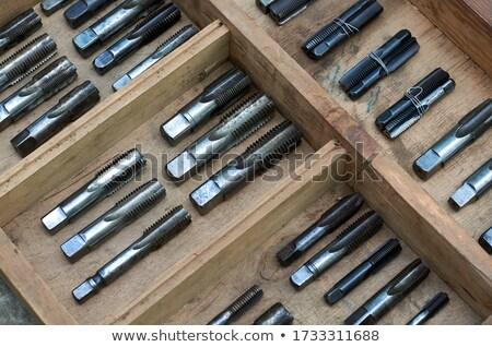 vintage  drill bit Stock photo © RedDaxLuma