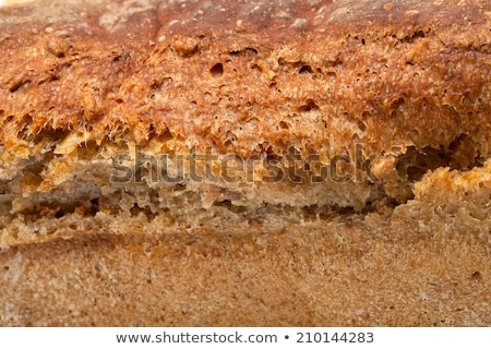 Stock photo: large loaves of bread traditionally roasted
