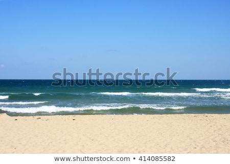 beautiful empty sand beach   romantic destination stock photo © jarin13