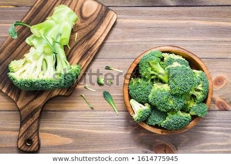 Cauliflower Floret Textures Close Up Stock photo © frannyanne
