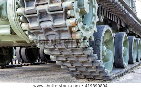 Tank Track Closeup Stock photo © cosma