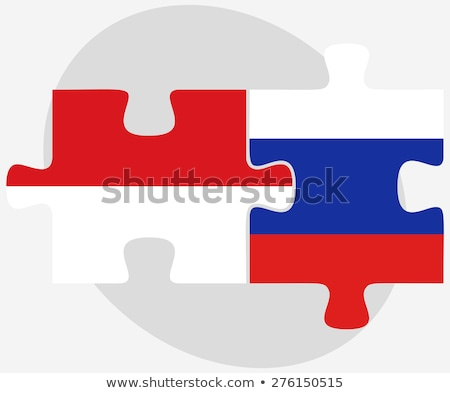 Indonesia and Russian Federation in puzzle Stock photo © Istanbul2009