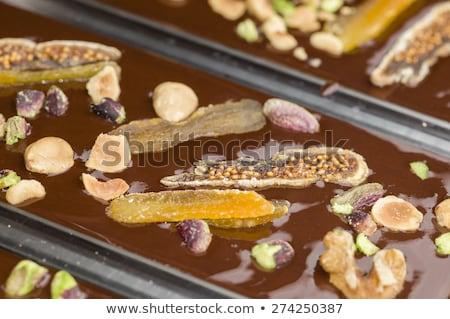 ingredientes · preparação · misto · chocolate · bar - foto stock © alessandrozocc