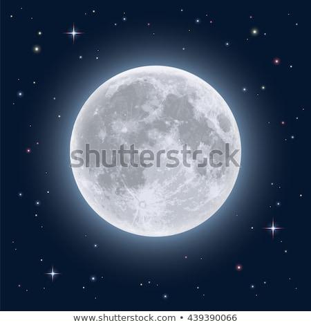 Hold illusztráció absztrakt grafikus vektor terv Stock fotó © mikemcd