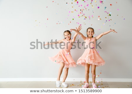 Stock photo: Twins of sister