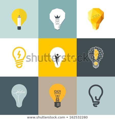 мира знак желтый вектора икона дизайна Сток-фото © rizwanali3d