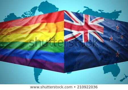 new zealand gay map stock photo © tony4urban