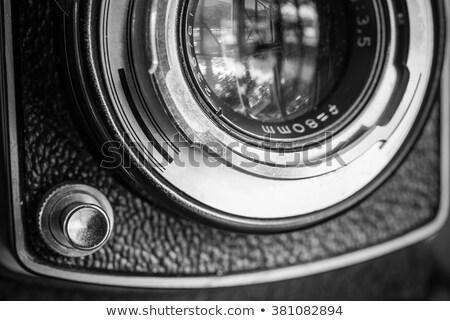Przestarzały kamery narzędzia zawodowych antyczne Zdjęcia stock © Paha_L