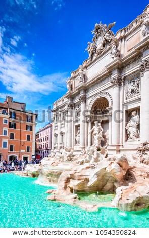 Piazza di Trevi in Rome, Italy Stock photo © vladacanon