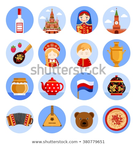 Fakanál piros kaviár orosz stílus étel Stock fotó © Hipatia
