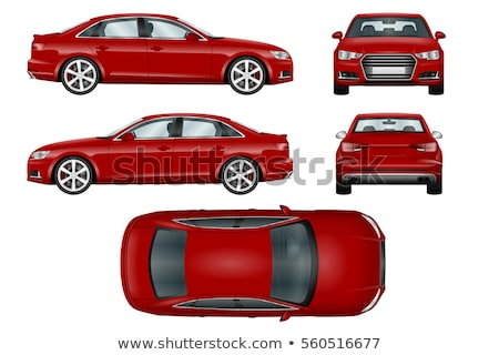 Vector red car Stock photo © Ava