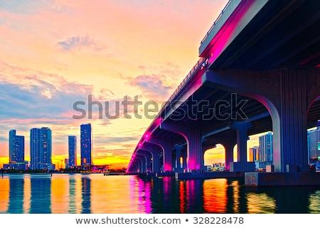 Майами пляж Флорида США город строительство Сток-фото © lunamarina