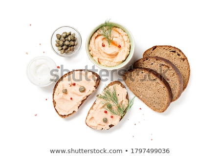 Photo stock: Canapes With Pate