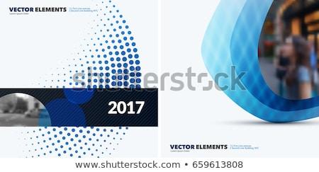 Gezondheid flyer sjabloon ontwerp papier medische Stockfoto © rioillustrator