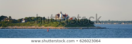 Nobska Point Light is a lighthouse located on the Cape Cod, USA Stock photo © CaptureLight