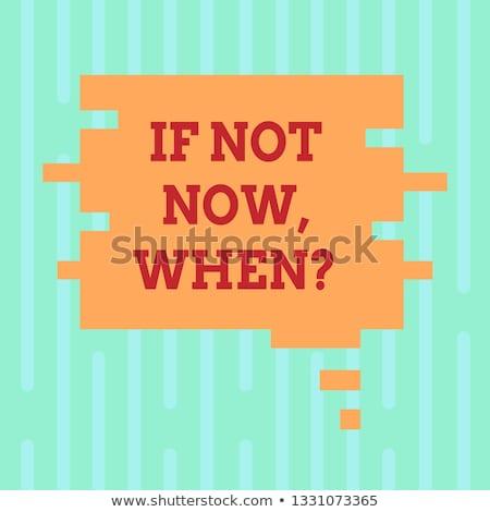 Puzzle with word Do it now Stock photo © fuzzbones0