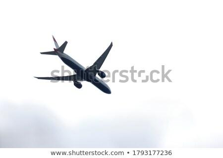 Repülőgép égbolt illusztráció üzlet kék repülőgép Stock fotó © bluering