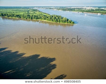 nehir · Missouri · güzel · düşmek · ağaçlar · yaprakları - stok fotoğraf © pixelsaway