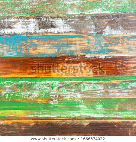 multi-coloured wooden wall Stock photo © almir1968