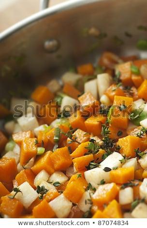 Diced celeriac Stock photo © Digifoodstock