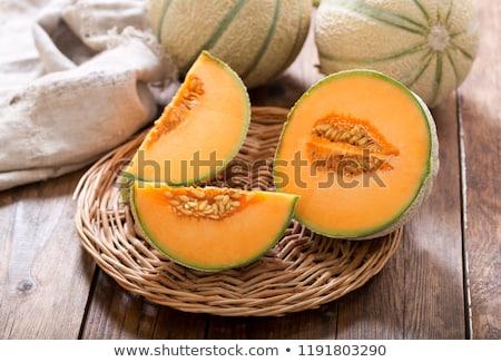 ストックフォト: 黄色 · フルーツ · 新鮮な · メロン