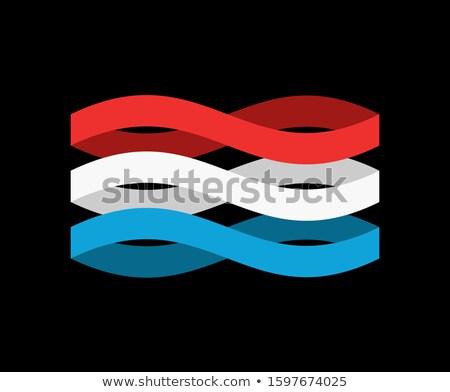 Banderą wstążka odizolowany taśmy banner streszczenie Zdjęcia stock © popaukropa
