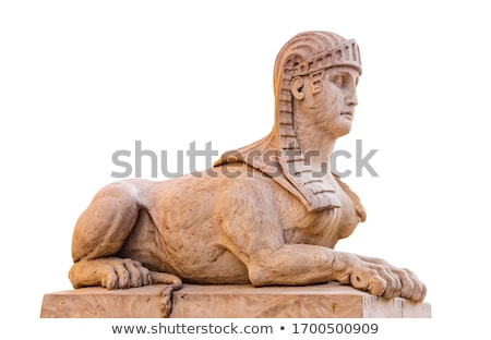 Egyptian sculpture of stone  Stock photo © OleksandrO